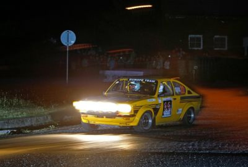 Rally Bohemia Legend – závod