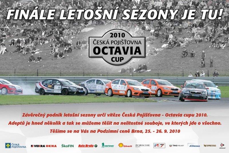 Finále Octavia Cup na Podzimní ceně Brna