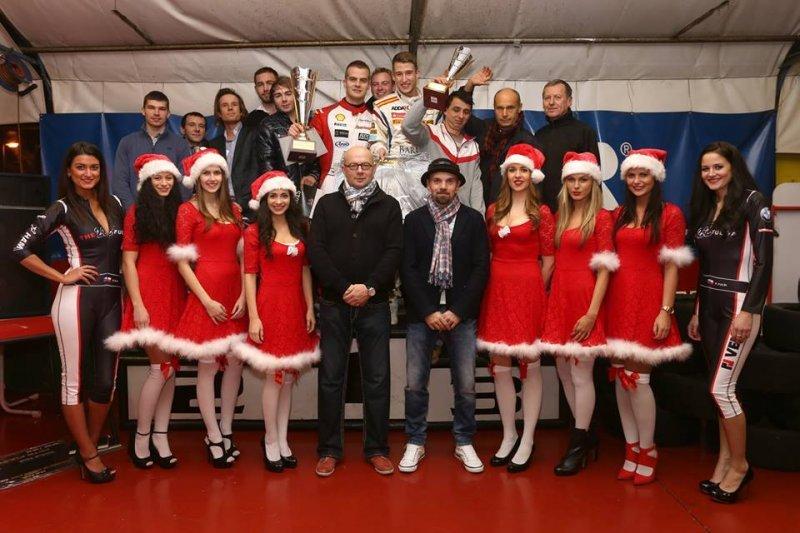 Petr Fulín oslavil závěr sezony křtem svého kalendáře na příští rok